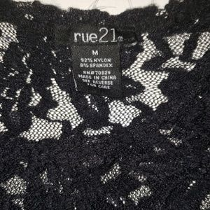 Rue21 Tops - 😎 2 for $12 or 3 for $14 Rue 21 Lace Top